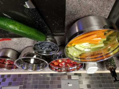 Fruit and Veggie wash, prep and chop
