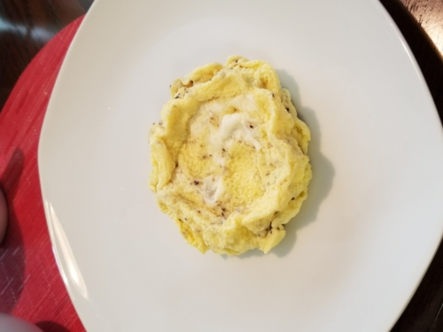 Plated Omelet